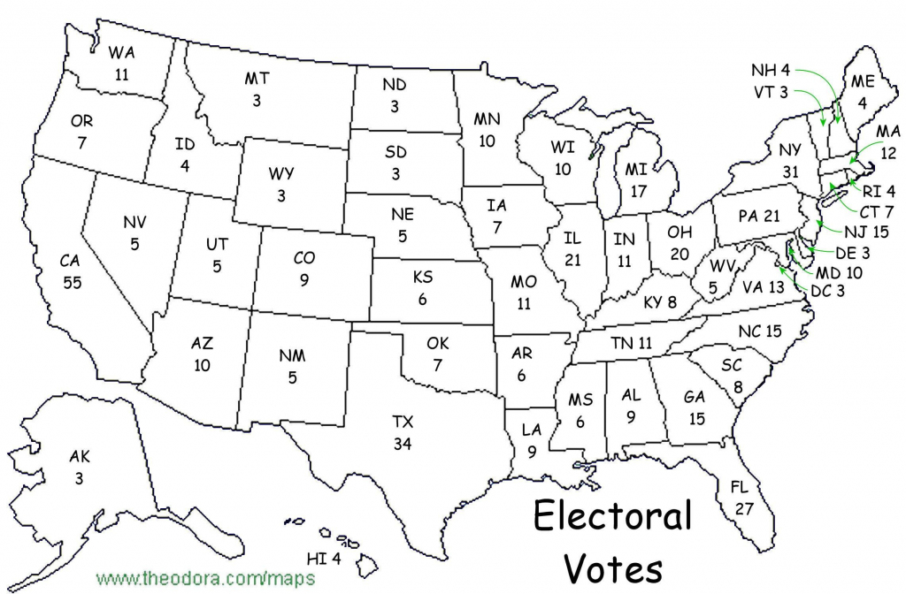 Printable Maps Blank Electoral Map 2016 20 Blank Electoral Map 2016 with regard to Blank Electoral College Map 2016 Printable