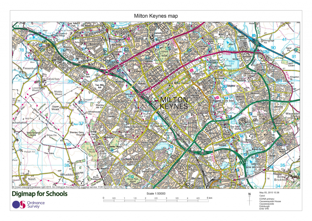Printable Maps » Digimap For Schools Blog inside Printable Os Maps