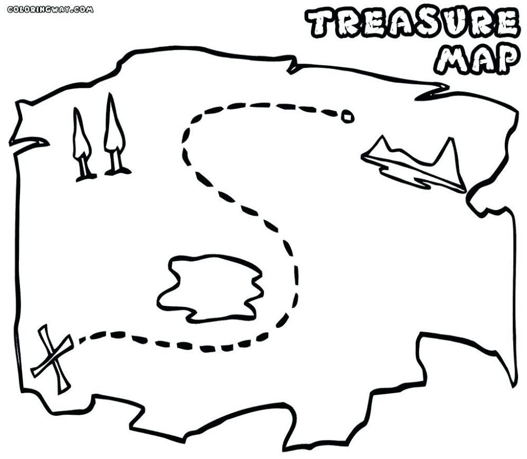 Printable Maps For Kids Genuine Pirate Treasure Map To Print in Printable Treasure Map