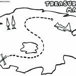 Printable Maps For Kids Genuine Pirate Treasure Map To Print With Regard To Printable Pirate Map