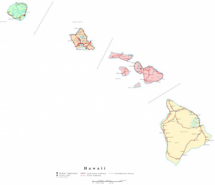 Big Island Map Printable