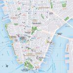 Printable New York Map Printable Travel Maps Of New York | Travel Intended For New York City Street Map Printable