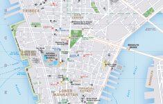 New York City Street Map Printable