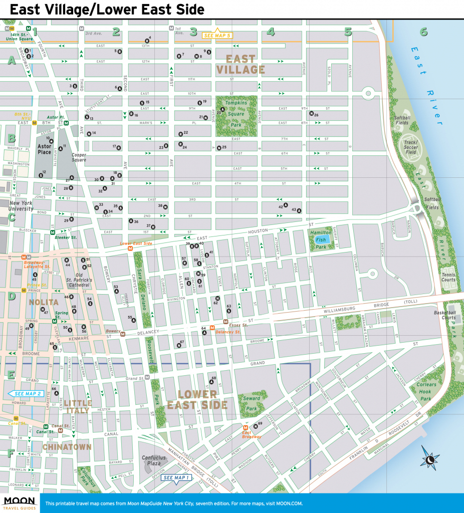 Printable New York Street Map | Travel Maps And Major Tourist for New York City Street Map Printable