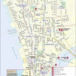 Printable New York Street Map | Travel Maps And Major Tourist Pertaining To New York City Street Map Printable