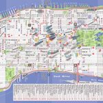 Printable New York Street Map | Travel Maps And Major Tourist Regarding Printable New York Street Map
