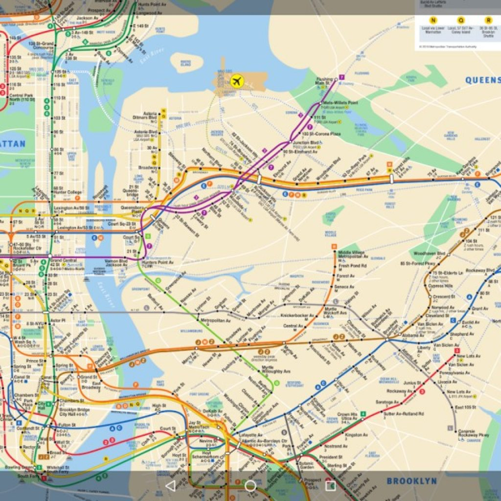Printable Nyc Subway Maps Metaphor Our Mess within Printable Nyc Subway Map