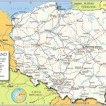 Printable Poland Maps,map Collection Of Poland,poland Map With In Printable Map Of Poland