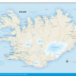 Printable Road Map Of Iceland And Travel Information | Download Free Pertaining To Maps Of Iceland Printable Maps