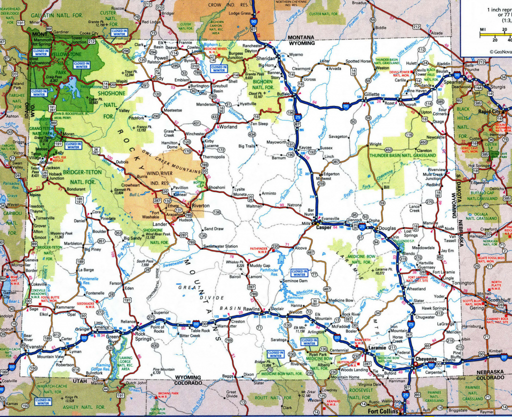 Printable Road Maps Of Usa And Travel Information | Download Free throughout Printable Road Maps