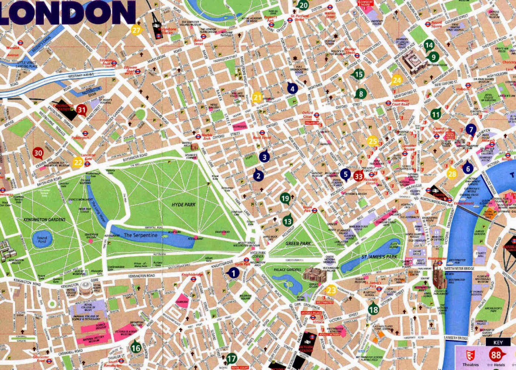 Printable Street Map Of Central London | Travel Maps And Major with regard to Printable Street Map Of Central London