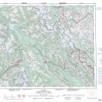 Printable Topographic Map Of Golden 082N, Ab Within Free Printable Topo Maps Online