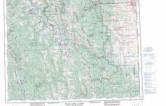 Free Printable Map Of Alberta