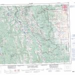 Printable Topographic Map Of Kananaskis Lakes 082J, Ab Regarding Printable Map Of Alberta