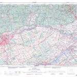 Printable Topographic Map Of Ottawa 031G, On   Free Printable Topo In Topographic Map Printable