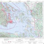 Printable Topographic Map Of Victoria 092B, Bc   Free Printable Topo With Free Printable Topo Maps Online