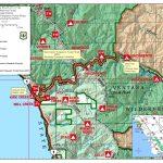 Printable Travel Maps Of Coastal California Moon Com Inside Map For Printable Travel Maps