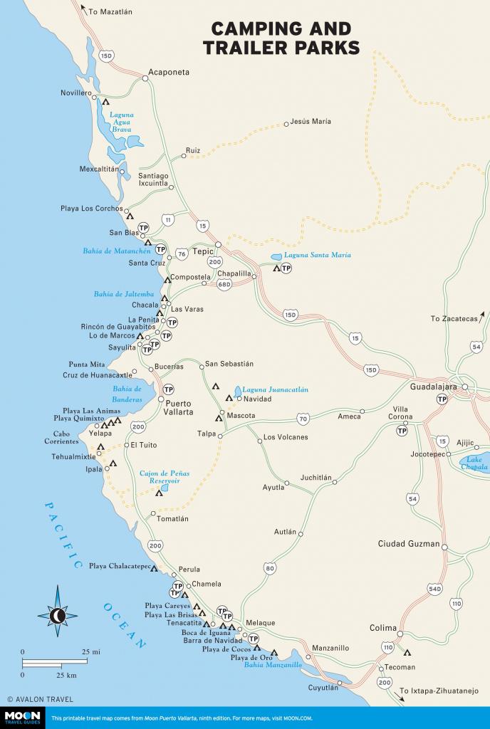 Printable Travel Maps Of Puerto Vallarta | Mexico Puerto Vallarta with Puerto Vallarta Maps Printable
