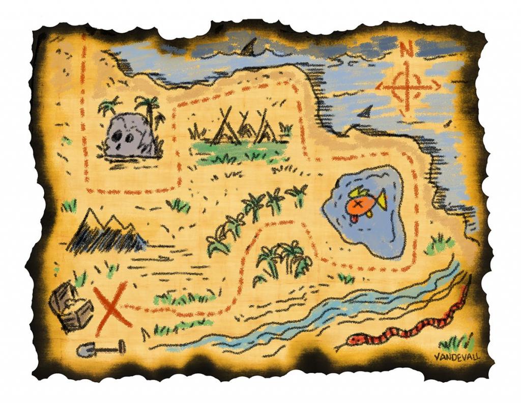Printable Treasure Maps For Kids   Kidding Around   Treasure Maps pertaining to Pirate Treasure Map Printable