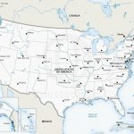 Printable United States Map With Cities Best Printable Us Map With Within Printable State Maps With Major Cities