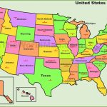 Printable Us Map States Labeled Best United States Map States For Printable Us Map With States