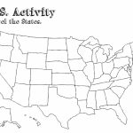 Printable Us Map With Capitals Us States Map Inspirational Free Inside Blank States And Capitals Map Printable