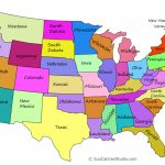 Printable Us Maps With States (Outlines Of America   United States) Inside United States Color Map Printable