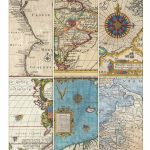 Printable Vintage Map Tags   Call Me Victorian Pertaining To Printable Antique Maps Free