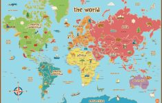 Free Printable World Map Poster