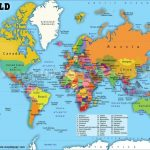 Printable World Map With Countries Labeled Pdf And Travel Regarding Printable World Map