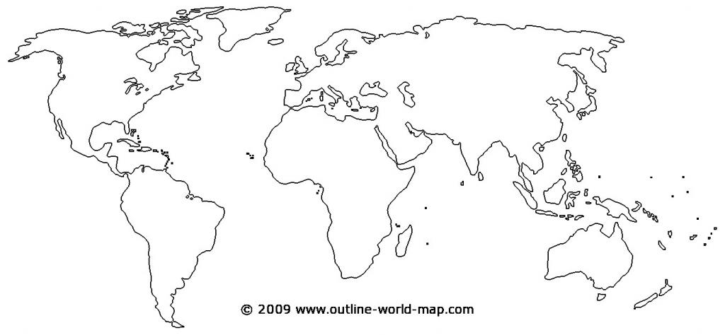 Printable World Map - World Wide Maps for Blank Map Printable World
