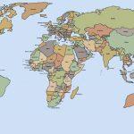 Printable World Map   World Wide Maps   Printable World Map With Intended For World Map Printable Pdf