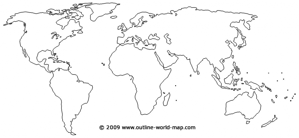 Printable World Map - World Wide Maps with World Map Template Printable