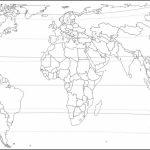 Printable World Maps With Latitude And Longitude And Travel In Map Of World Latitude Longitude Printable