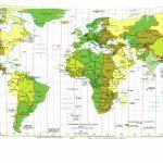 Printable World Maps With Latitude And Longitude And Travel With World Map With Latitude And Longitude Lines Printable