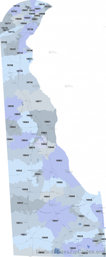Printable Zip Code Maps - Free Download intended for Chicago Zip Code Map Printable