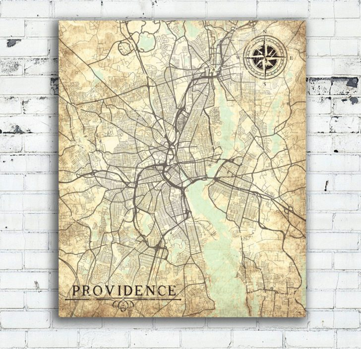 Printable Map Of Providence Ri