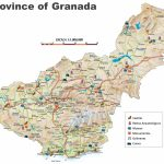 Province Of Granada Map Throughout Printable Street Map Of Granada Spain