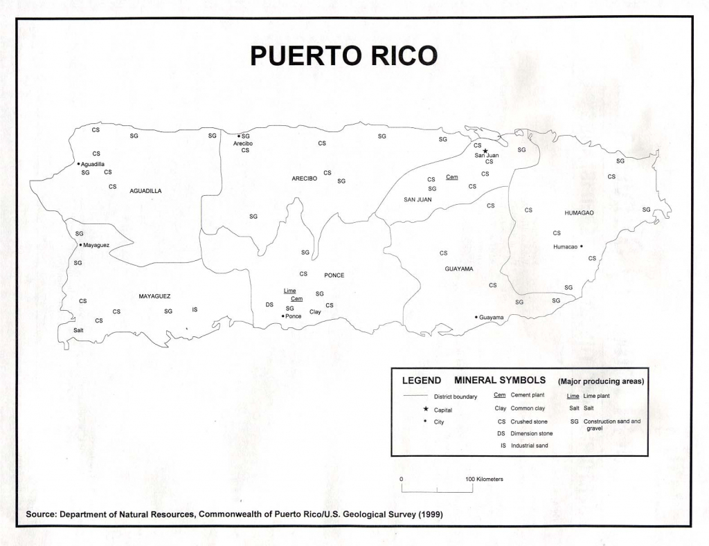 Puerto Rico Maps - Perry-Castañeda Map Collection - Ut Library Online with regard to Printable Map Of Puerto Rico With Towns