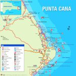 Punta Cana Tourist Map Pertaining To Printable Map Of Dominican Republic