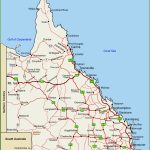 Queensland Highway Map In Queensland Road Maps Printable