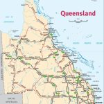 Queensland Map Road Australia 1   World Wide Maps Within Queensland Road Maps Printable