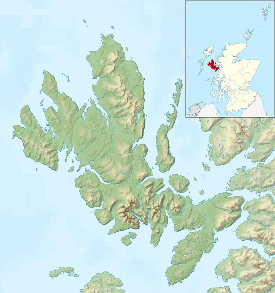 Raasay - Wikipedia regarding Printable Map Skye
