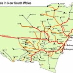Rail Transport In New South Wales   Wikipedia With Regard To Printable Map Of Newcastle Nsw