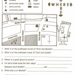 Reading Maps Worksheet Free Worksheets Library Download And Inside Printable Map Skills Worksheets