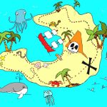Real Treasure Maps Found Clipart Animals Cliparts With Hot   Wikiclipart Within Printable Kids Pirate Treasure Map