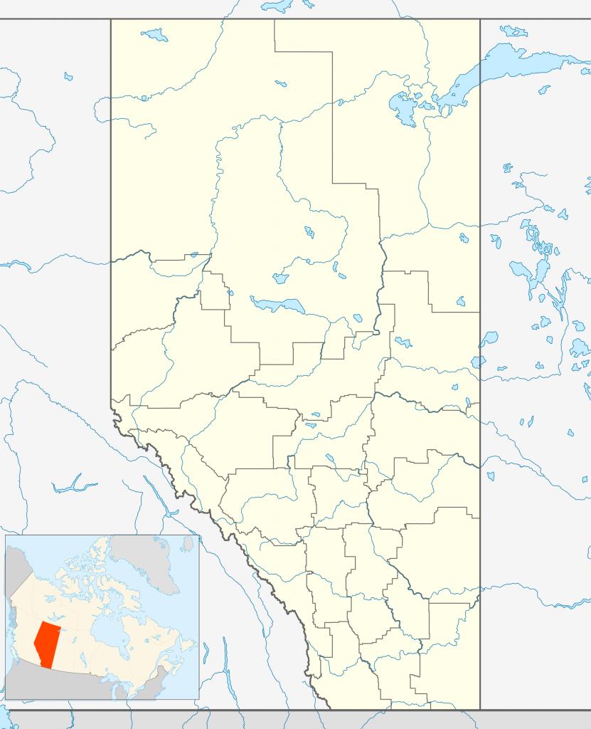 Red Deer, Alberta - Wikipedia inside Printable Red Deer Map