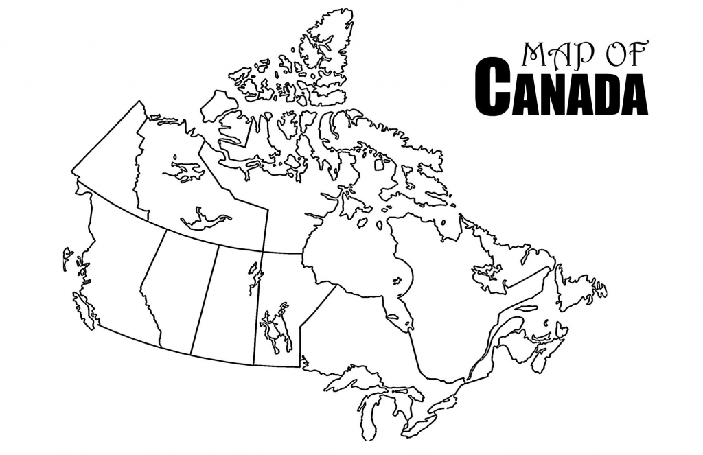 Revolutionary Printable Canada Map Strange Of Provinces And with regard to Map Of Canada Black And White Printable
