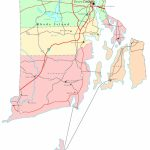 Rhode Island Map   Online Maps Of Rhode Island State Regarding Printable Map Of Providence Ri