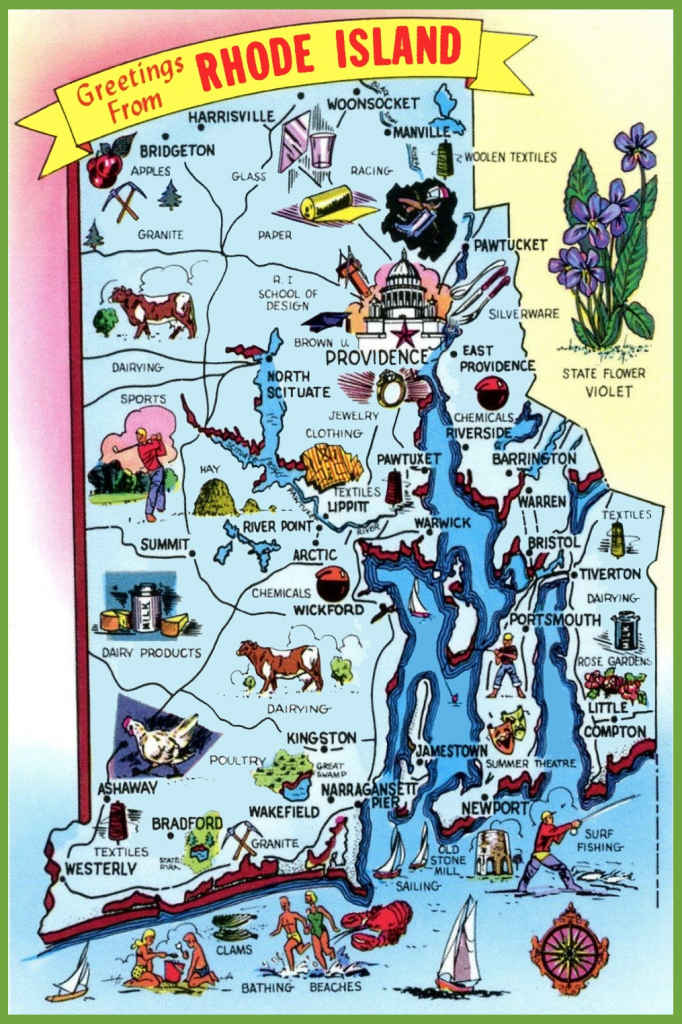 Rhode Island State Maps | Usa | Maps Of Rhode Island (Ri) regarding Printable Map Of Rhode Island